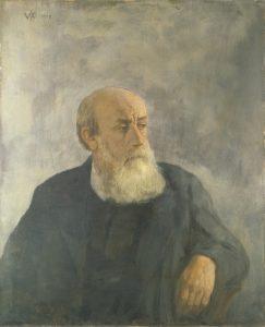 Selbstportrait Wilhelm Steinhausen